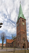 Danish Photos - Helsingor church 02 by Antony McAulay