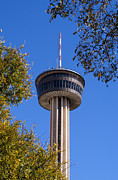 Tower Of The Americas Photos - HemisFair Park Tower by Bob Phillips