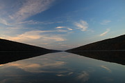 Finger Lakes Photo Originals - Hemlock Lake Mirror by Steve Clough