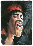Caricature Art - Hendrix by Art