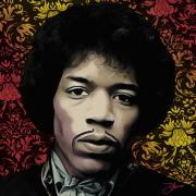 Famous Movie Stars Posters - Hendrix Daze Poster by Dancin Artworks