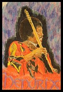 Michael Mcgrath Metal Prints - Hendrix Metal Print by Michael McGrath