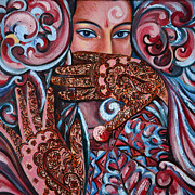 Henna Print by Harsh Malik
