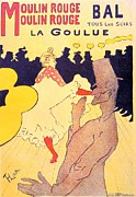 Rouge Posters - Henri de Toulouse Lautrec 1864 Poster by Anonymous