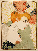 French Painter Posters - Henri de Toulouse Lautrec - Mlle. Marcelle Lender en buste Poster by Nomad Art And  Design