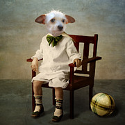 Cute Dog Digital Art - Henri by Martine Roch