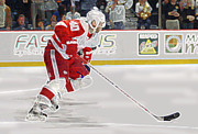 All-star Framed Prints - Henrik Zetterberg Framed Print by Don Olea