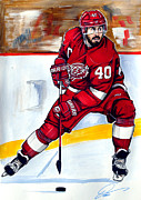 Dave Olsen - Henrik Zetterberg of the...