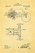 Henry Ford Transmission Mechanism Patent Art 1911 Print by Ian Monk