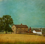 Country House Posters - Henry House at Manassas Battlefield Park Poster by Kim Hojnacki