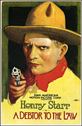 Featured Art - Henry Starr Poster by Gary Grayson