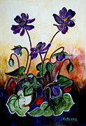 Veronica Rickard - Hepatica after a design...