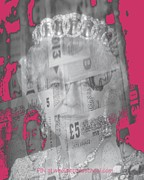 Ruler Mixed Media Posters - Her Majesty Queen Elisabeth Poster by PainterArtist FIN