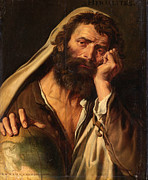 Famous Artists - Heraclitus by Abraham Janssens