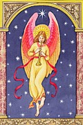 Herald Angel Print by Lavinia Hamer