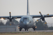 Lockheed Photos - Hercules by Paul Job
