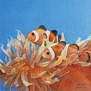 Clown Fish Originals - Here Come The Clowns by Vicki Greene