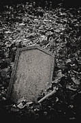 Grave Photos - Here Lies... by Odd Jeppesen
