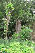 St. Francis Of Assisi Photos - Hereford Cathedral Garden by Deborah Smolinske