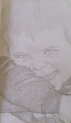Portraits Drawings - Heres Looking at You by Melissa Nankervis