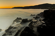 South Africa Prints - Hermanus Sunset Print by Aaron S Bedell