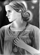 Hermione Granger Acrylic Prints - Hermione Granger Acrylic Print by Crystal Rosene