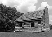 Log Cabin Photographs Photos - Hermitage Farmhouse 1 by Denise Mazzocco