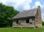 Log Cabin Photographs Photos - Hermitage Farmhouse by Denise Mazzocco