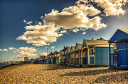 Boast Prints - Herne bay beach huts Print by Ian Hufton