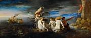 Domenico Fetti - Hero Mourning the Dead Leander by Domenico Fetti