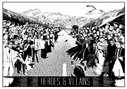 Heroes And Villains Print by Donal Murphy