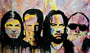 Metallica Paintings - Heroes of the Day by Chad Rice