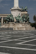Budapest Hungary Photos Photos - Heroes Square by Sabina Cosic