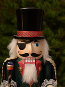 Handcrafted Art - Herr Drosselmeyer Nutcracker by Richard Reeve