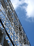 Comet Prints - Hershey Park - Comet Roller Coaster - 12122 Print by DC Photographer