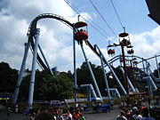 Bear Photos - Hershey Park - Great Bear Roller Coaster - 12125 by DC Photographer