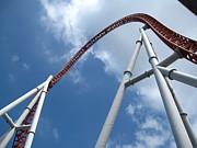 Hershey Park - Storm Runner Roller Coaster - 12123 Print by DC Photographer