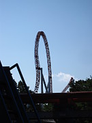 Pa Posters - Hershey Park - Storm Runner Roller Coaster - 12124 Poster by DC Photographer