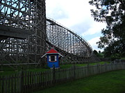 Wildcat Prints - Hershey Park - Wildcat Roller Coaster - 12121 Print by DC Photographer