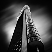 High Rise Prints - Het Strijkijzer Print by David Bowman