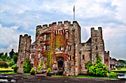 Medieval Entrance Photo Posters - Hever Castle Poster by Chris Thaxter