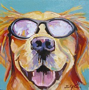 Carter Painting Originals - Hey Dude by Sarah Gayle Carter