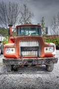 Rusted Cars Photos - Hey Mack- Auto Personailities #4 by Dan Stone