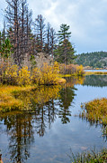 Fort Collins Art - Hiawatha Lake 3 by Keith Ducker