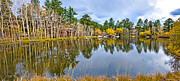 Fort Collins Art - Hiawatha Lake Panorama by Keith Ducker
