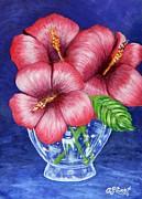Hibiscus Print by Caroline Street