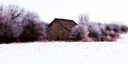 Hidden Barn Print by Julie Hamilton