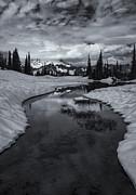 Hidden Beneath The Clouds Print by Mike  Dawson