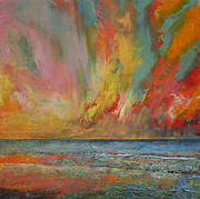 Michael Creese - Hidden Heart Lava Sky
