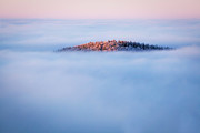 Inversion Prints - Hidden in the Clouds Print by Katka Pruskova